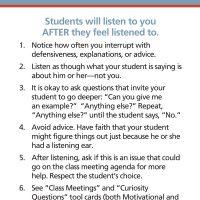 Listening Skills for Teachers | Positive Discipline