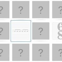 Time signature – Score excerpt Memory